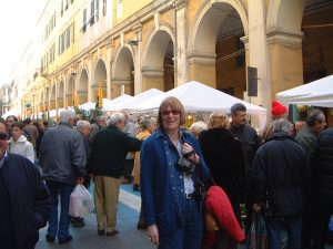 Judy Ridgway at Olioliva Festival Imperia