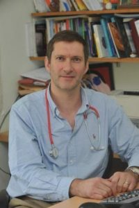 A picture of the co-author of my book Simon Poole