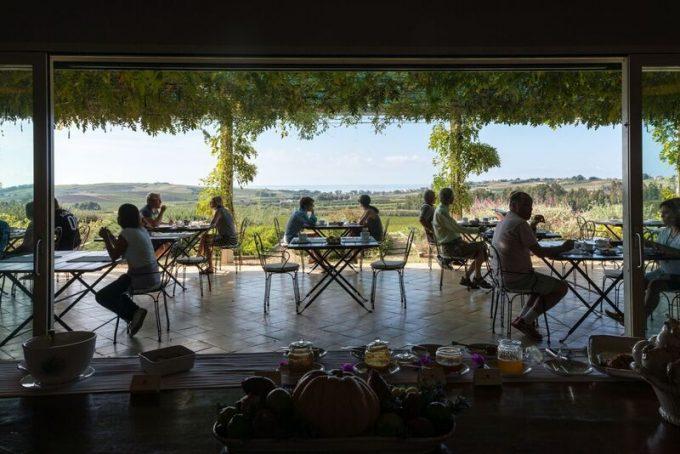 Terrace at La Foresteria Resort, Planeta