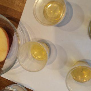 olive oil tasting cups