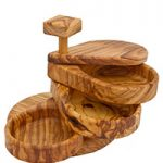 Seggiano olive wood spice holder