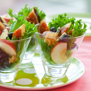 Fig and cheese salad