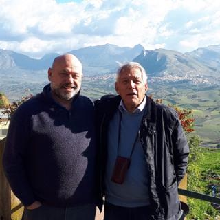 Phil with Signore Di Lorewith Signore di Lorenzonzo